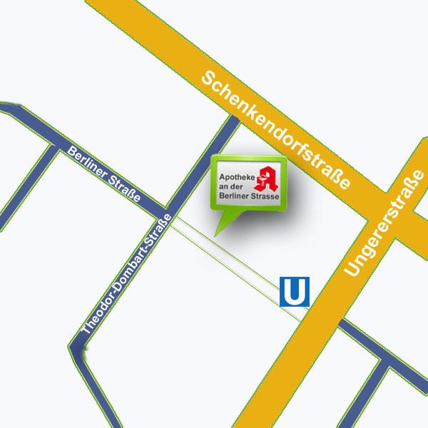 Apotheke an der Berliner Straße | Ungererstr. 75 | 80805 München